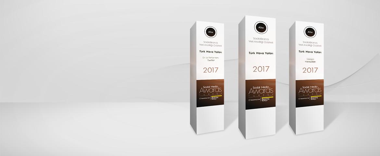 Sosyal Medya Ödüllerinden beşi bir yerde!